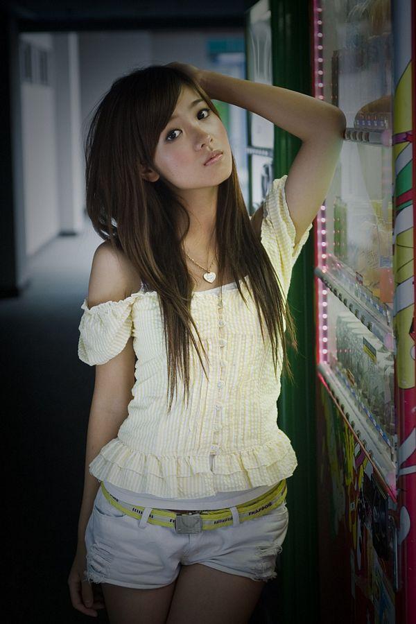sweet asian girl
