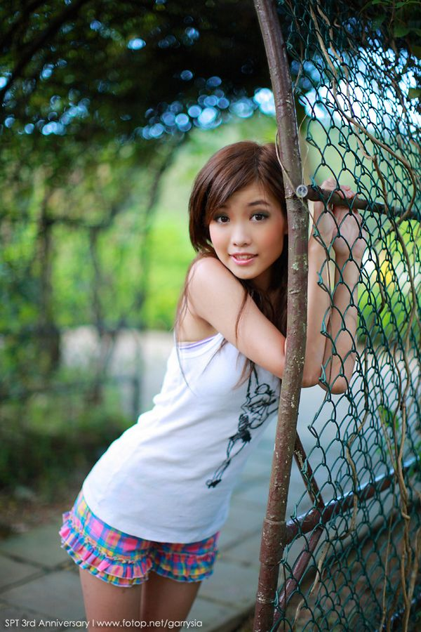 sweet asian girl